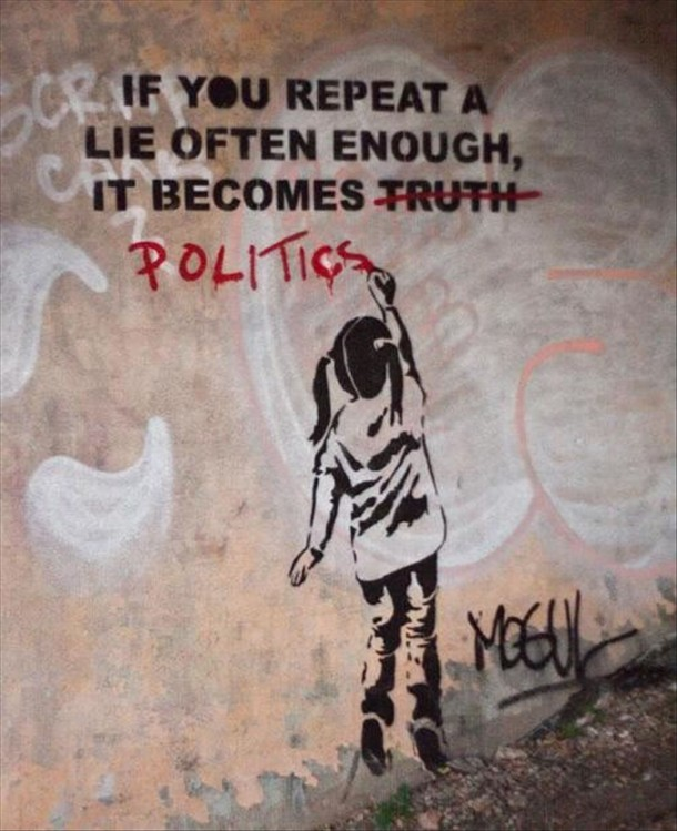 banksy-lies-politics